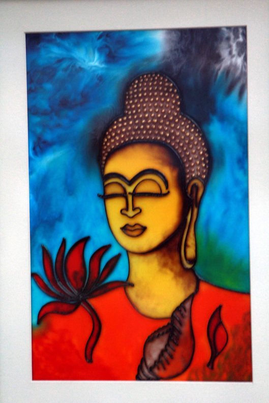 Buddha - Glass art